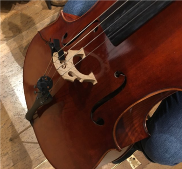 contactmic cello
